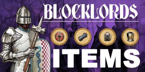 【BLOCKLORDS】BLOCKLORDS玩法初探2——装备道具